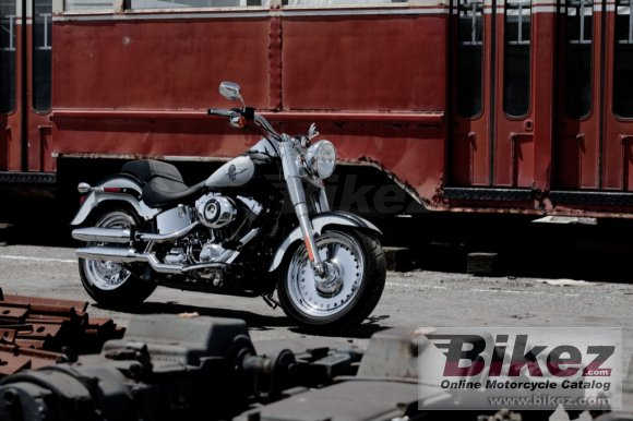 2012 Harley-Davidson FLSTF Softail Fat Boy photo