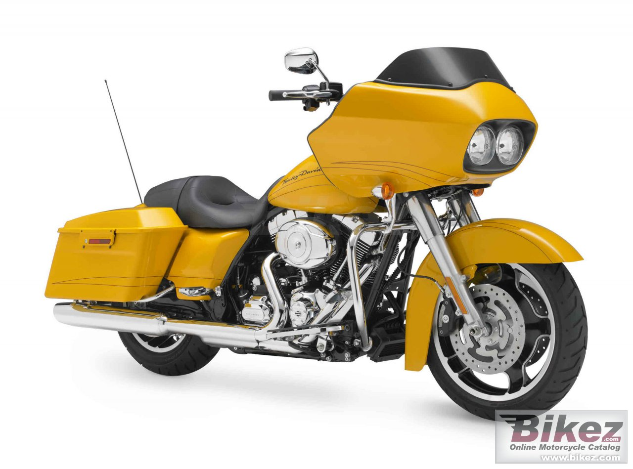 Big Harley-Davidson fltrx road glide custom picture and wallpaper from Bikez.com