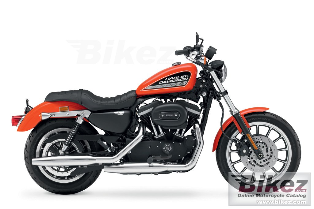 Big Harley-Davidson xl883r sportster 883 r roadster picture and wallpaper from Bikez.com
