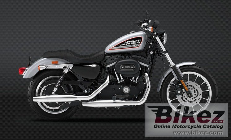 Big Harley-Davidson sportster 883 roadster picture and wallpaper from Bikez.com
