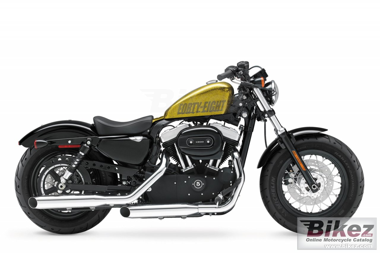 Big Harley-Davidson sportster forty-eight picture and wallpaper from Bikez.com
