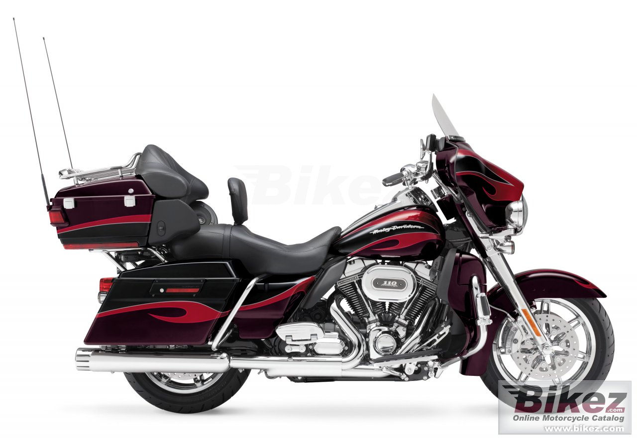 Big Harley-Davidson cvo ultra classic electra glide picture and wallpaper from Bikez.com