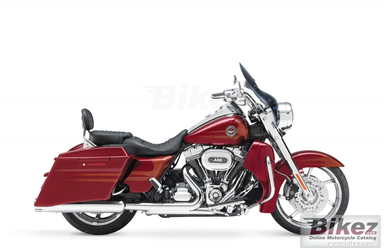 Big Harley-Davidson cvo road king picture and wallpaper from Bikez.com