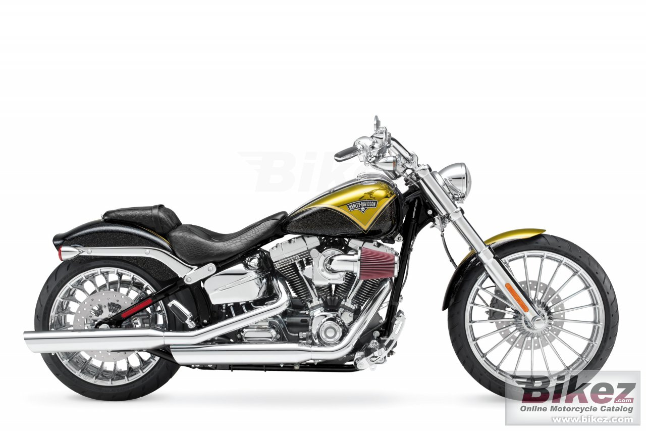 Big Harley-Davidson cvo breakout picture and wallpaper from Bikez.com