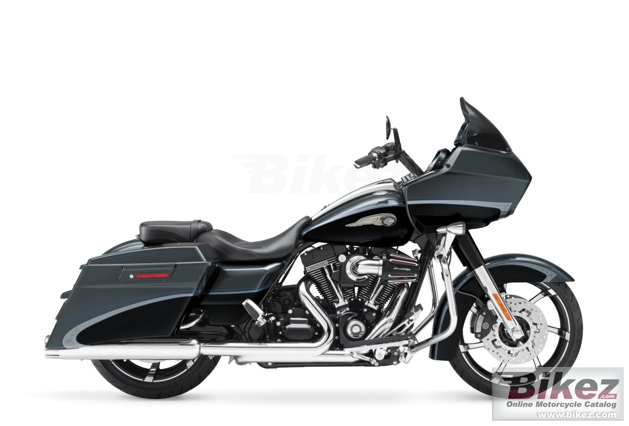 Big Harley-Davidson cvo road glide custom 110th anniversary picture and wallpaper from Bikez.com