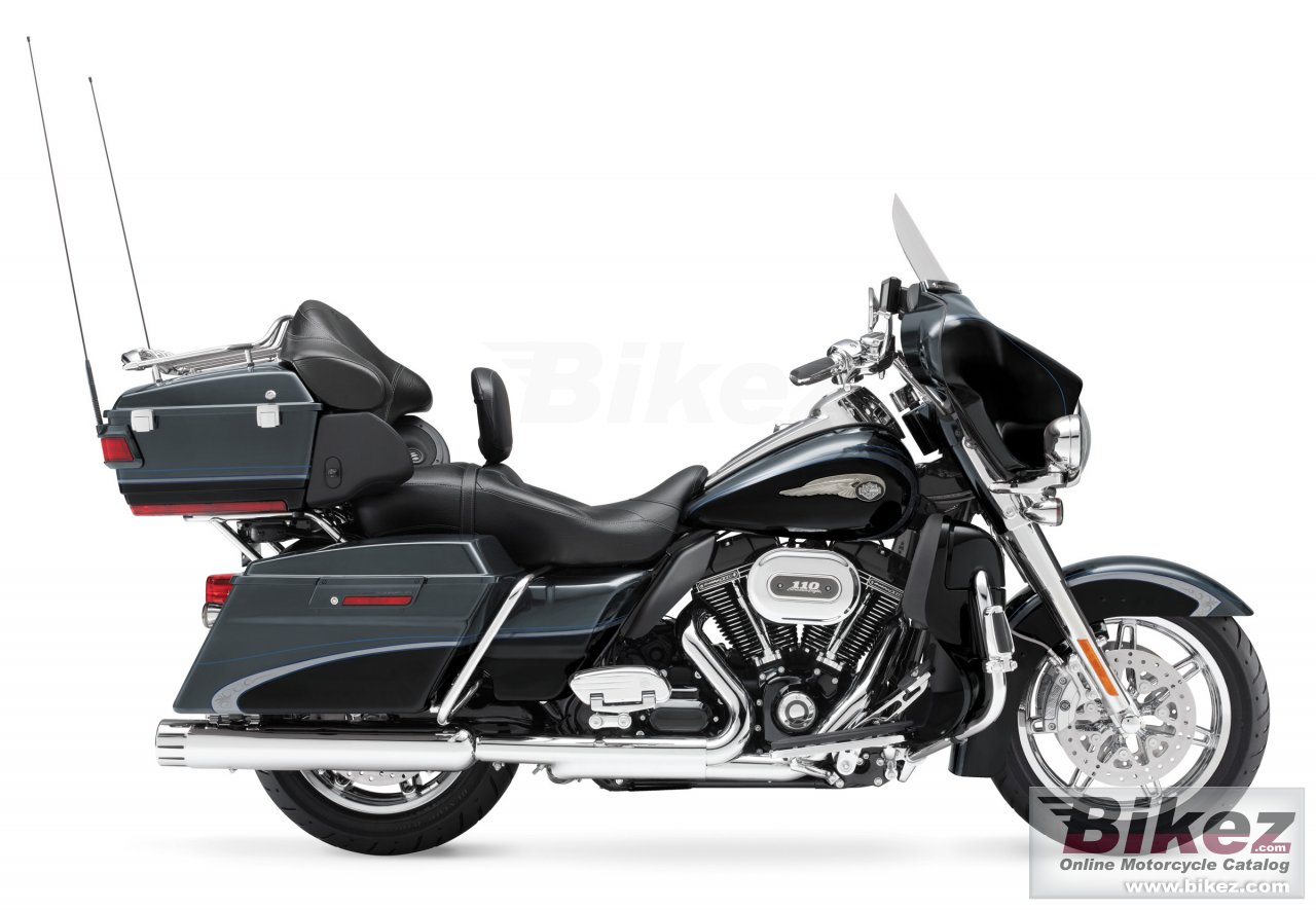 Big Harley-Davidson cvo ultra classic electra glide 110th anniversary picture and wallpaper from Bikez.com