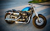 2013 Harley-Davidson Sportster Forty-Eight Dark Custom photo