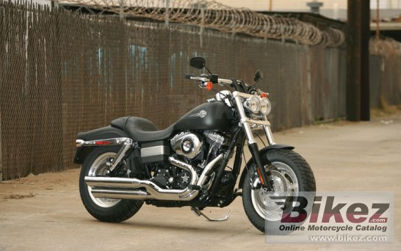 2013 Harley-Davidson Dyna Fat Bob Dark Custom photo