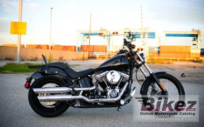 2013 Harley-Davidson Softail Blackline Dark Custom