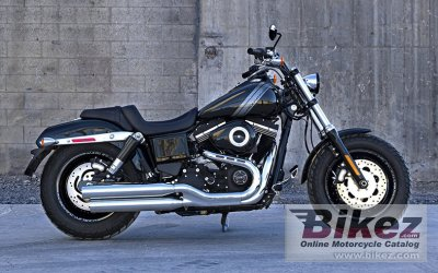 2014 Harley Davidson Dyna Fat Bob Dark Custom
