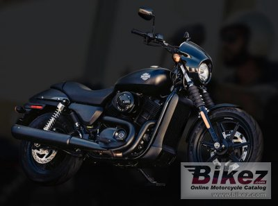 2018 Harley-Davidson Street 500 Dark Custom specifications and pictures