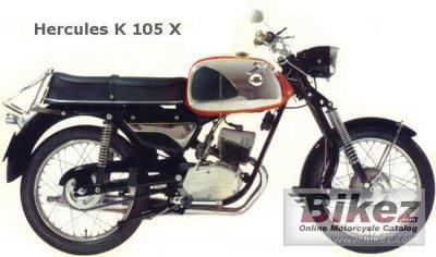 1970 Hercules K 105 X