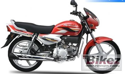 2008 Hero Honda 125 Super Splendor