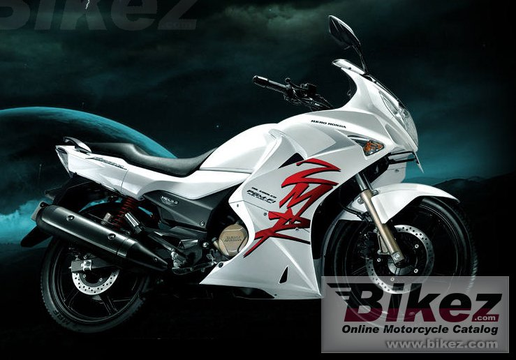 Big Hero Honda karizma zmr picture and wallpaper from Bikez.com