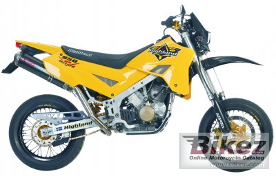 2007 Highland Super Motard specifications and pictures