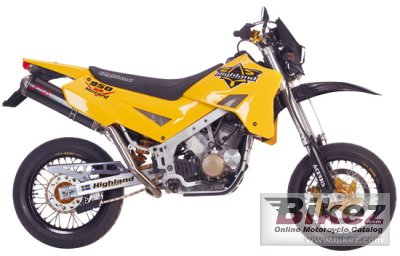 2008 Highland SuperMotard 950 specifications and pictures