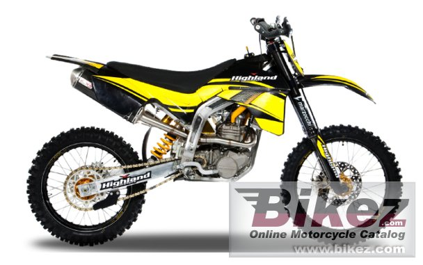 Big Highland 450cc mx picture and wallpaper from Bikez.com