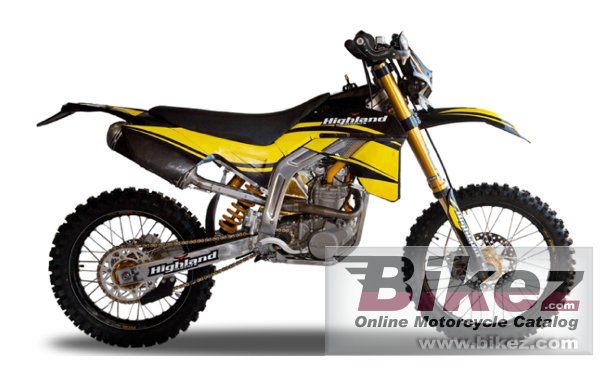 Big Highland 350cc trail picture and wallpaper from Bikez.com