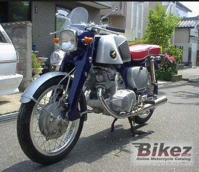 1962 Honda Dream Sport CB71
