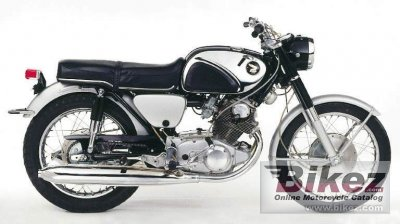 1963 Honda Dream 305