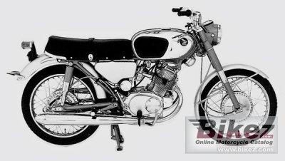 1967 Honda CB 160