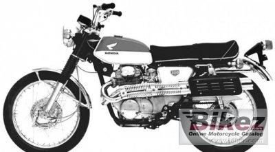 1969 Honda CL 350
