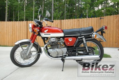 1970 Honda CB 350 photo