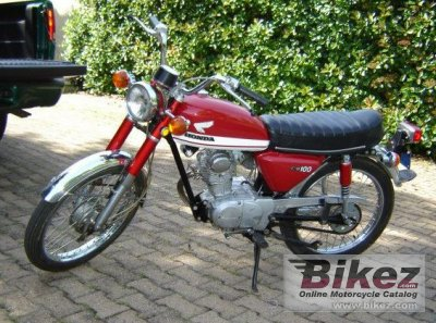 1971 Honda CB 100 photo