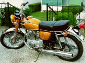 1971 Honda CB 350 photo