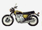 1971 Honda CB 500 F photo