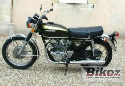 1972 Honda CB 450 disc photo
