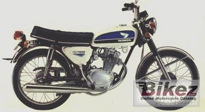1972 Honda CB 100 photo