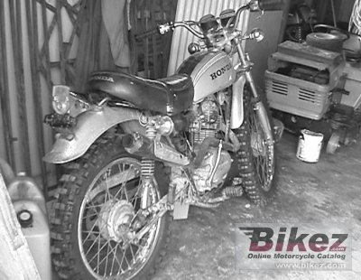 1972 Honda SL 125 photo