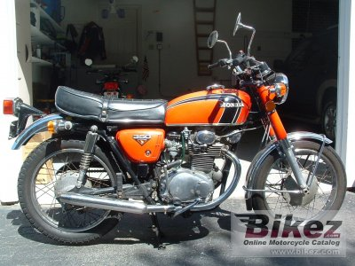 1972 Honda CB 350 specifications and pictures