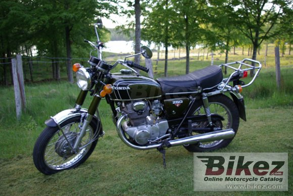 1973 Honda CB 250 photo