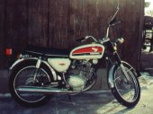 1973 Honda CB 100 photo