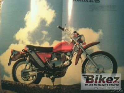 1973 Honda SL 125 photo