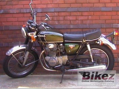 1973 Honda Cb 350 Specifications And Pictures