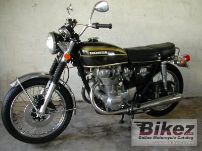 1973 Honda CB 450 Disc Specifications And Pictures
