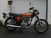1974 Honda CB 450 disc photo
