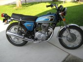 1974 Honda CB 360 disc photo