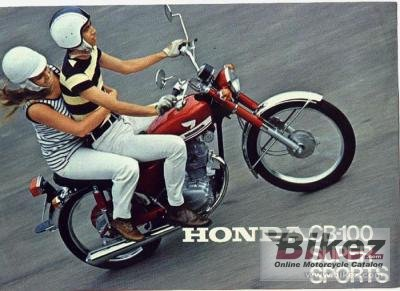 1974 Honda CB 100 photo