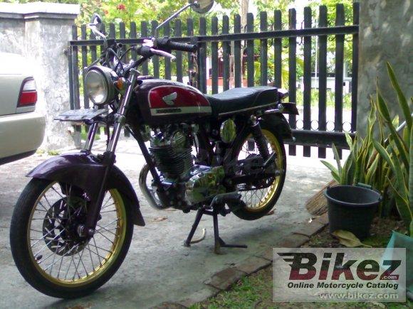 1974 Honda CB 100