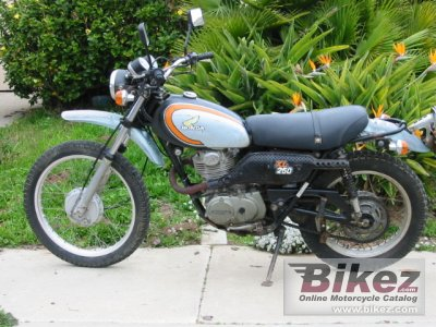 1974 Honda XL 250 photo