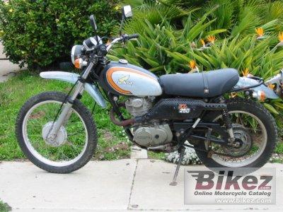 1974 Honda XL 250