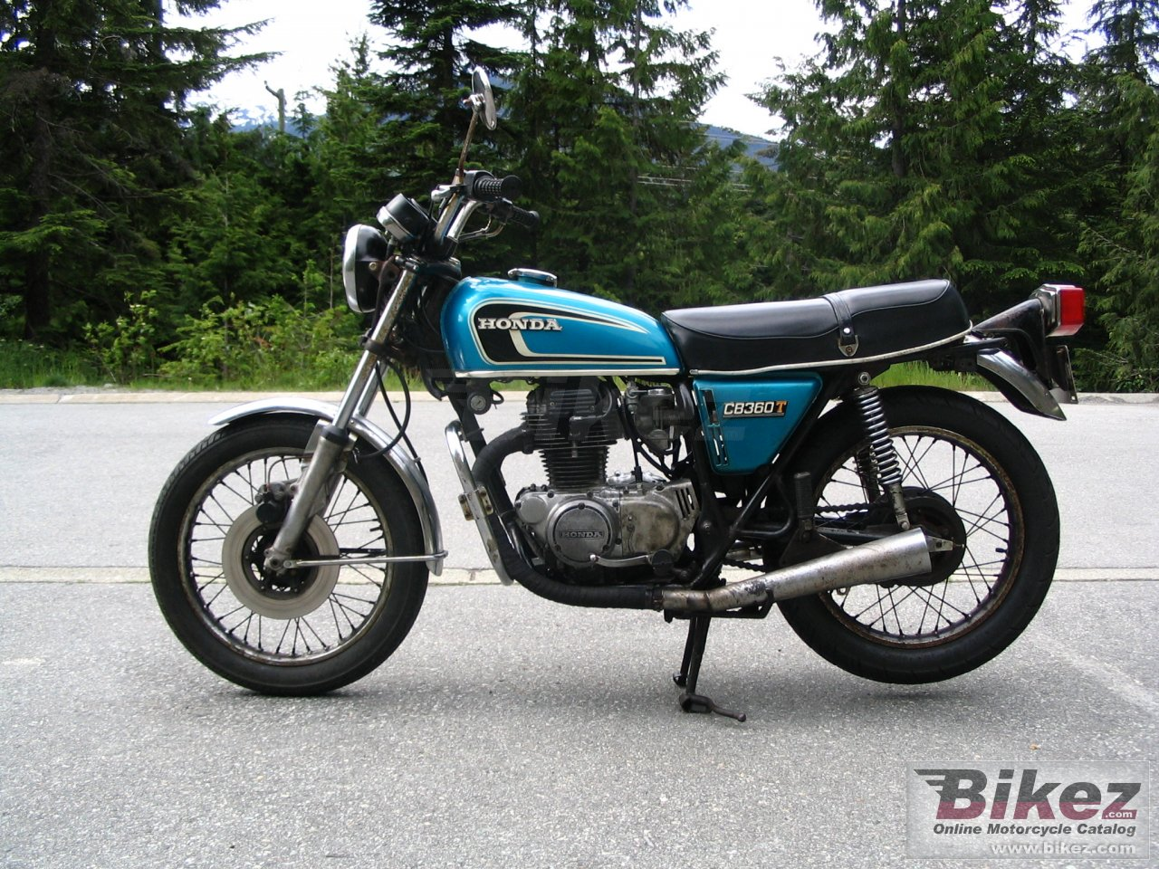 Big  cb 360 g picture and wallpaper from Bikez.com