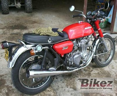 1975 Honda CB 350 disc photo
