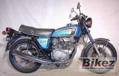1975 Honda CB 250 G photo