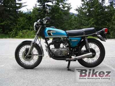 1975 Honda CB 360 G specifications and pictures