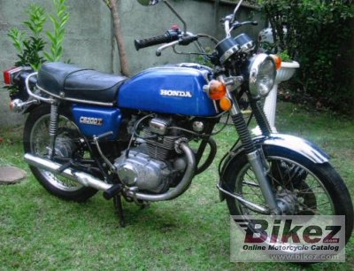 1976 Honda CB 200 disc photo